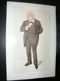 Vanity Fair Print: 1910 W. S. Simpson, Science